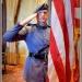Color Guard Commander Cadet Logan Futrell.
