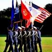 LSU Veterans Day ceremony 2016