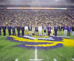 Military Hall of Honor Inductees Honored in Tiger Stadium