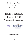 Fourth Annual Joint ROTC Awards Ceremony 2015