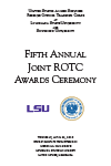 Fifth Annual Joint ROTC Awards Ceremony 2016
