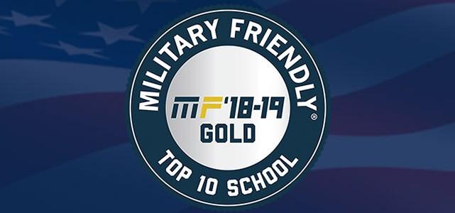 LSU Earns 2018-2019 Military Friendly© School Designation