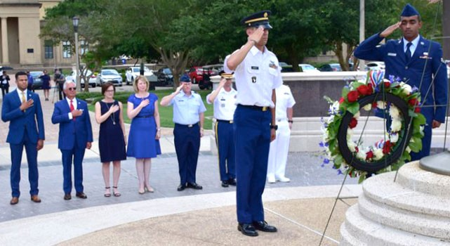 LSU Memorial Day Observance